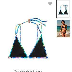 PINK strappy bikini top